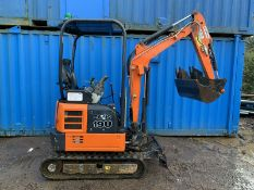 Hitachi 19U Mini Digger 2018