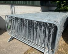 Interlocking Crowd control barriers x 10