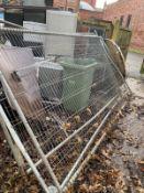 Heras fence panels x 3
