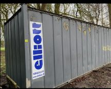 20ft site storage container cabin