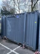 13 x 9 2+ 1 toilet block container cabin