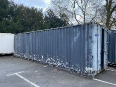 30ft x 8ft site storage container shipping container cabin
