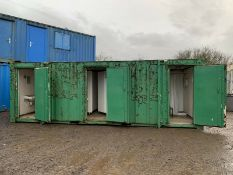 Portable Toilet Block With Shower