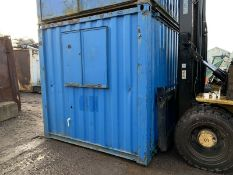 10ft Anti Vandal Steel Portable Site Office Canteen