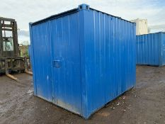 10ft Anti Vandal Steel Portable Storage Container