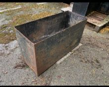 Steel Container Planter