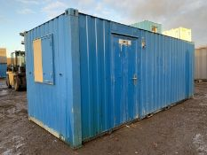 20ft Anti Vandal Steel Portable Site Office 2017