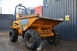 Thwaites 6 Tonne straight tip dumper 2011 4x4