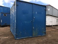 Steel Anti Vandal Storage Container 10ft x 8ft
