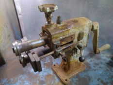 Bench Mounted Bead Roller