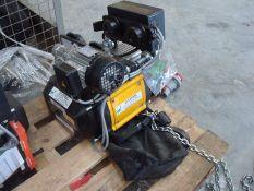 1.0t yale cpv c/w power travel chain hoist