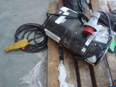 Electric chain hoist swl 2t x 30m