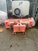 Kubota Tractor snow plough
