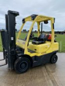Hyster 2.5 Gas forklift truck Container Spec