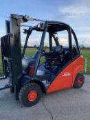Linde H25 Gas Container Spec Forklift