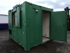 Office Site Cabin Kiosk Site Hut Welfare Unit