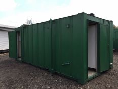 Portable Toilet Block With Shower Steel Welfare Unit