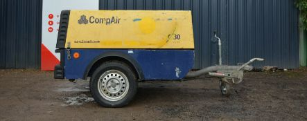 Compair C30 compressor 2008