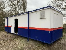 Portable Office Site Cabin Welfare Unit 32ft