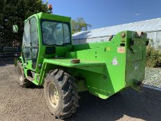 Merlo Telehandler P38.14 Panoramic. 14m reach. Year 2013. Quick hitch, piped for other attachments.