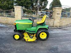 John Deere 455 ride on lawn mower