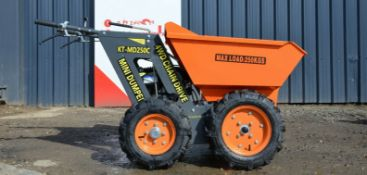 Mini dumper kt-md250c 2020 4wd
