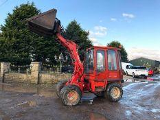 Weideman Demann 2502 loading shovel