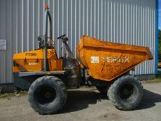 Terex PT9000 9 ton 4X4 dumper