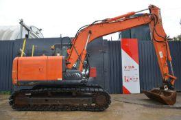 Hitachi zx130 lcn-5b excavator 2015
