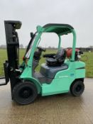 Mitsubishi 2.5 Gas forklift truck Container Spec