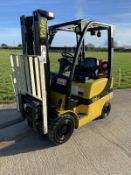 Yale 1.8 Gas Forklift Truck Container Spec