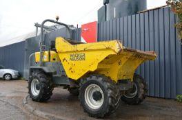 Wacker neuson 6001 dumper 2013 4x4 Straight tip