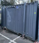 12ft 2+1 Toilet Block Site Office Container