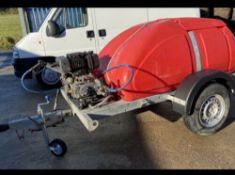 Diesel pressure washer bowser