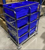 Warehouse Stock Trolley