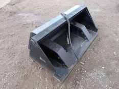 Bobcat tipping bucket for skidsteer
