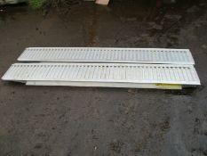 Ifor Williams 8ft feet Genuine Aluminium Lorry ramp ramps plant trailer loading