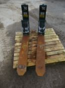 Kooi aap extending tines forks forklift