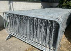 Pedestrian Barriers x 10