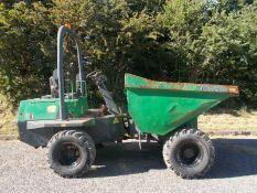 Benford Terex 3 ton straight tip dumper