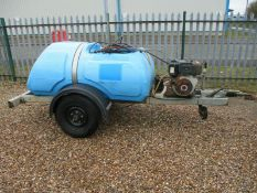 Towable bowser diesel power pressure washer