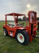 Manitou Buggy rough terrain diesel forklift