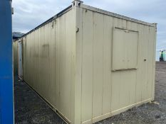 32 x 10ft site cabin
