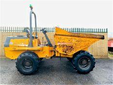 Benford Terex PT6000 6 Ton Straight Tip Dumper 2005