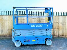 Genie GS2632 Electric Scissor Lift2015