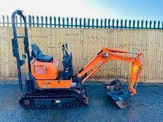 Hitachi ZX10U-2 Excavator Digger 2016