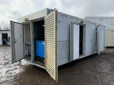 Welfare unit portable site office cabin