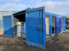 Portable welfare unit site office