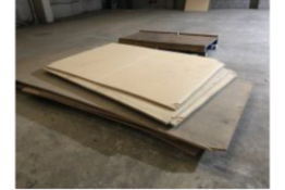 Joblot MDF Sheets