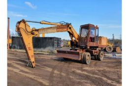 Case 888 Wheeled Excavator